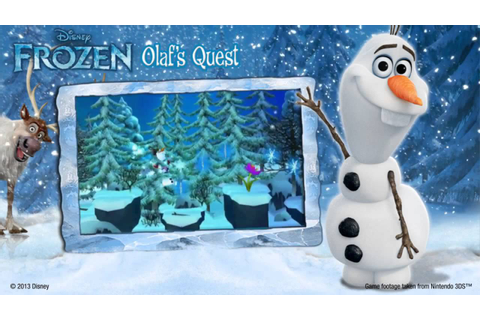 Disney Frozen: Olaf's Quest - Video Game Trailer - YouTube