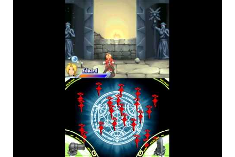 (DS) Fullmetal Alchemist - Dual Sympathy Gameplay - YouTube