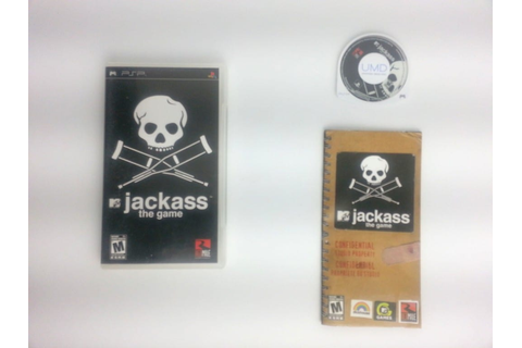 Jackass The Game game for PSP (Complete) | The Game Guy