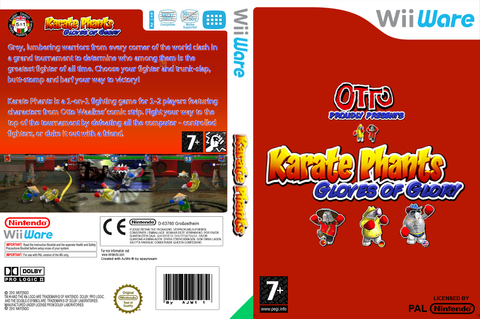 Karate Phants: Gloves of Glory on Qwant Games