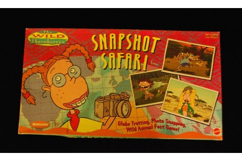 The Wild Thornberrys Snapshot Safari vintage board game 90s