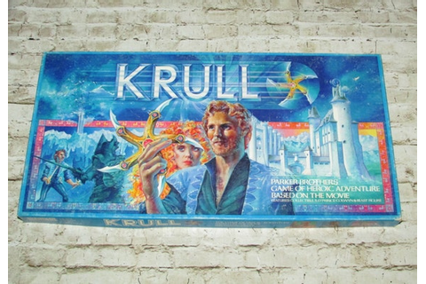 KRULL board game 1983