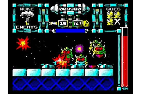 Dan Dare III: The Escape Walkthrough, ZX Spectrum - YouTube