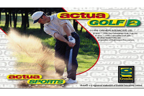 Nostalgia Series - Actua Golf 2 - YouTube