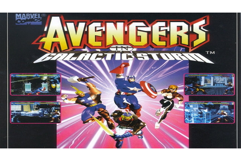 Avengers in Galactic Storm (Arcade) - YouTube