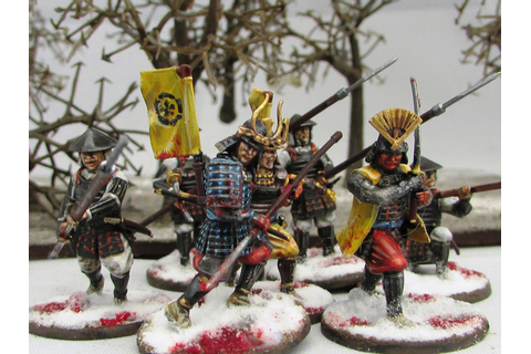 Volley Fire Painting : Warlord Games Test of Honour ...