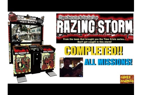 Namco TIME CRISIS RAZING STORM ARCADE COMPLETED!!! ALL ...