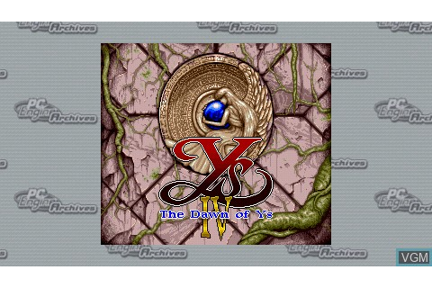 Ys IV - The Dawn of Ys for Sony PSP - The Video Games Museum