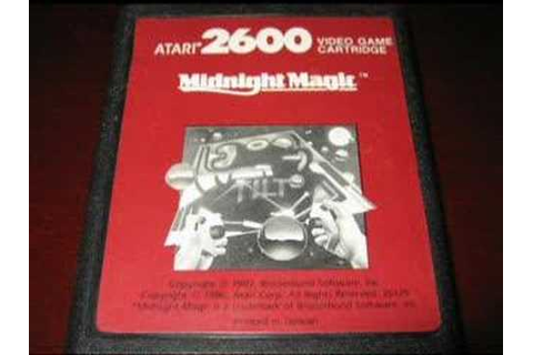 Classic Game Room - MIDNIGHT MAGIC review for Atari 2600 ...