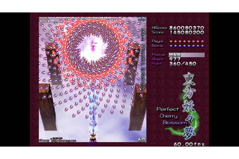 Touhou 7 - Perfect Cherry Blossom - Perfect Stage 4 ...