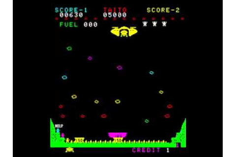 Game of the day 721 Lunar Rescue (ルナレスキュー) 1979 Taito ...