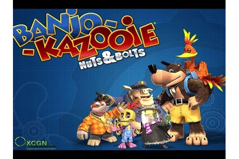 CGRundertow BANJO-KAZOOIE: NUTS AND BOLTS for Xbox 360 ...