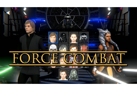Force Combat: A Star Wars fighting game(fan made ...