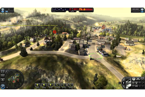World In Conflict Gameplay en Español - YouTube