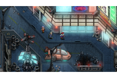 Retro Space RPG Cosmic Star Heroine Now Available on Steam