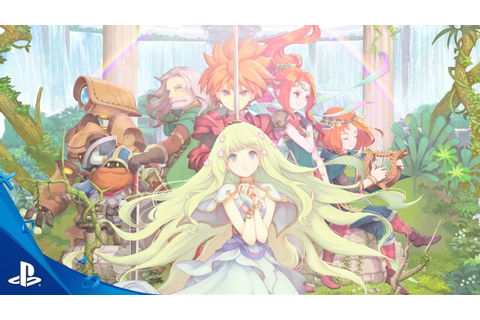 Adventures of Mana - Launch Trailer | PS Vita - YouTube