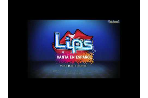 Caso Lips Canta en Español - YouTube