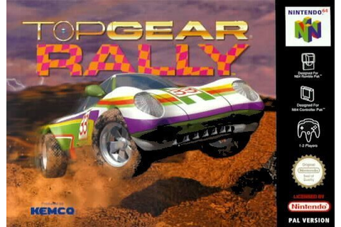 Top Gear Rally (N64 / Nintendo 64) News, Reviews, Trailer ...