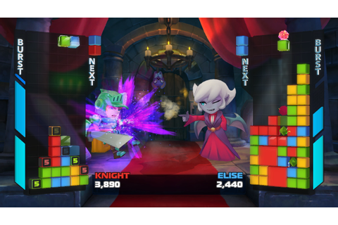 Crossover Puzzle-Fighter Crystal Crisis Shows Off Full ...