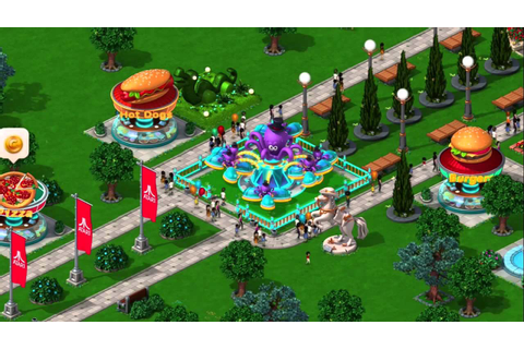 RollerCoaster Tycoon® 4 Mobile™ - YouTube
