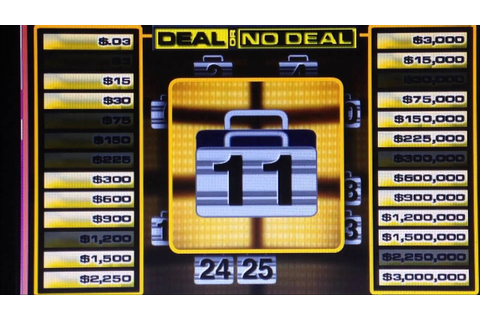 Deal or No Deal Online Game #19 - Triple Dollar Game - YouTube