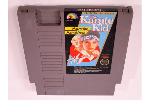 The Karate Kid game for NES (Loose) | The Game Guy