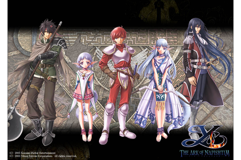 Photo Ys Ys: The Ark of Napishtim Games