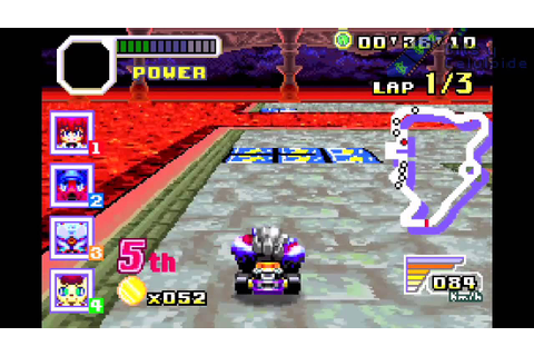 Konami Krazy Racers (Game Boy Advance) - Retro Bits - YouTube