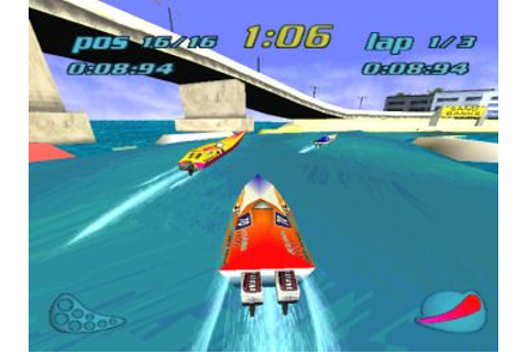 Rapid Racer (1997) PS game