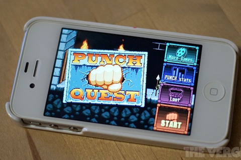 'Punch Quest' is the iPhone's hottest game, but it's a ...