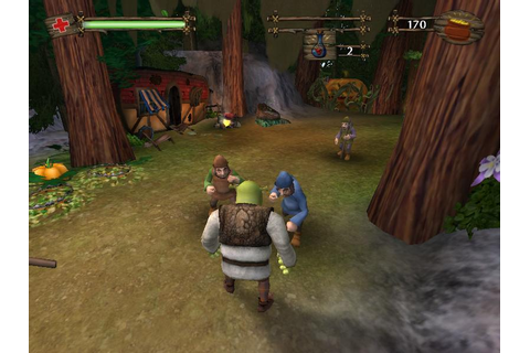 Shrek 2 Download (2004 Arcade action Game)