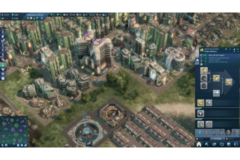 Anno 2070 - Planning For End Game - YouTube