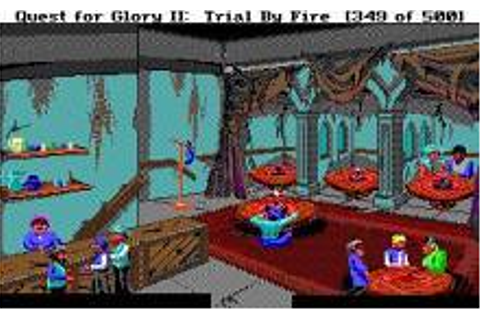 Quest for Glory 2: Trial by Fire Download (1990 Adventure ...