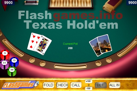Flash Texas Hold'em Game - Poker games - Games Loon
