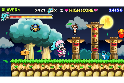 WONDER BOY RETURNS on PS4 | Official PlayStation™Store US