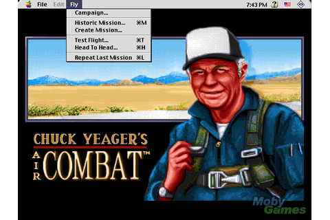 Chuck Yeagers Air Combat and other DOS games | TEST ...