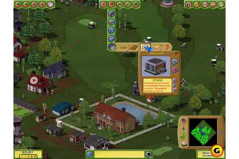 Just click download: Golf Resort Tycoon 2-free