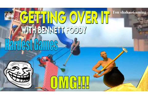 Getting Over It with Bennett Foddy - The most humorous and ...