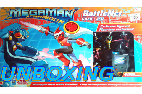 Megaman Battle Network BoardGame unboxing! - YouTube