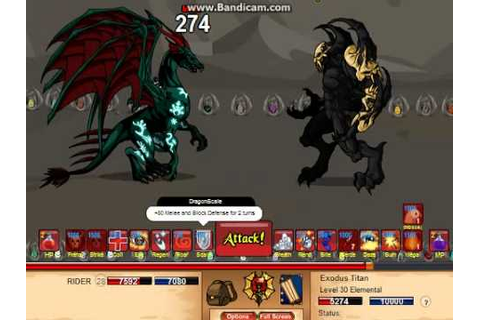 Dragonfable-Primal Dragon skill - YouTube