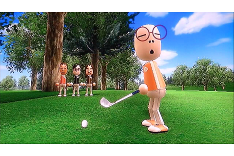 WII SPORTS RESORT - Gameplay 2 - Golf - YouTube