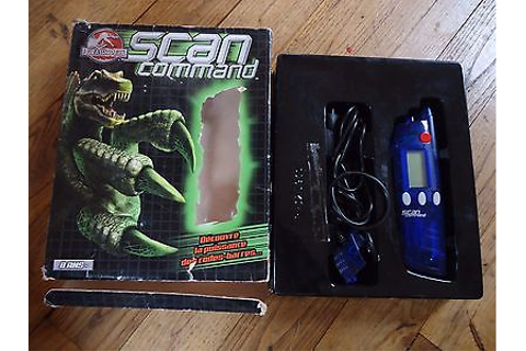 Jurassic park/scan command/scan without cd | eBay
