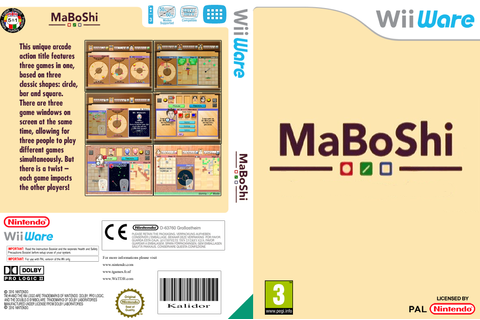 WMBP - MaBoShi: The Three Shape Arcade