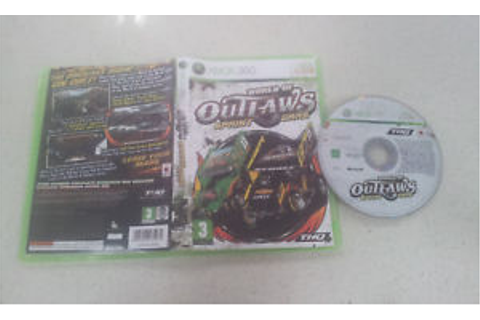 World of Outlaws Sprint Cars Xbox 360 Game PAL | eBay