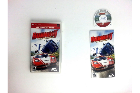 Burnout Legends game for PSP (Complete) | The Game Guy