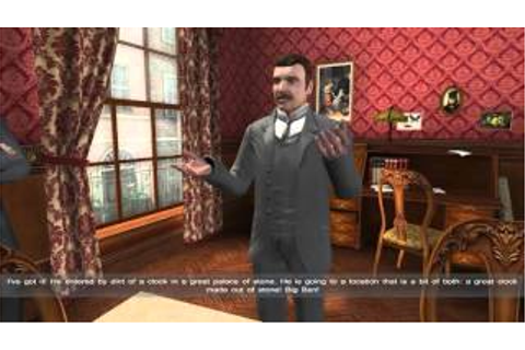 Sherlock Holmes Versus Arsene Lupin. Game Walkthrough