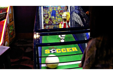 Let's Play The Simpsons Soccer Game - Amusement Arcade ...
