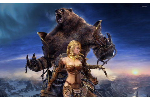 Guild Wars female warrior wallpaper - Game wallpapers - #54123