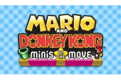 Mario and Donkey Kong: Minis on the Move (3DS eShop) Game ...