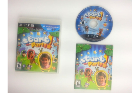 Start the Party game for Playstation 3 (Complete) | The ...